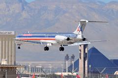 American Airlines (AA) - McDonnell Douglas (Douglas) MD-82 (DC-9-82) - N467AA - McCarran International Airport (LAS) - Las Vegas - September 24, 2013 088 RT CRP (TVL1970) Tags: nikon nikond90 d90 nikongp1 gp1 geotagged nikkor70300mmvr 70300mmvr aviation airplane aircraft airliners mccarraninternationalairport mccarranairport mccarran mccarraninternational lasvegas las klas n467aa americanairlines aa aerothrustholdings deltaairlines delta deltamaterialservices mcdonnelldouglas douglasaircraft douglasaircraftcompany douglas dac douglasdc9 douglasdc982 dc9 dc982 md82 md80 super80 super82 mcdonnelldouglasmd82 maddog prattwhitney pw jt8d jt8d217 jt8d217c