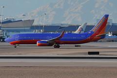 Southwest Airlines (SWA) - Boeing 737-800 - N8613K  - McCarran International Airport (LAS) - Las Vegas - September 23, 2013 3 032 RT CRP (TVL1970) Tags: nikon nikond90 d90 nikongp1 gp1 geotagged nikkor70300mmvr 70300mmvr aviation airplane aircraft airliners mccarraninternationalairport mccarranairport mccarran mccarraninternational lasvegas las klas n8613k southwestairlines southwest swa boeing boeing737 boeing737800 b737 b737ng 737ng 737 737800 737800wl boeing7378h4 7378h4 7378h4wl aviationpartners winglets cfminternational cfmi cfm56 cfm567b27 cfm567b27e