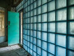 LR Chernobyl 2019-5311966 (hunbille) Tags: birgitteukraine20196lr ukraine chernobyl exclusion zone exclusionzone radiation nuclear disaster 1986 pripyat сhеrnоbуl nuсlеаr abandoned derelict palaceofculture palace culture energetik energetic gymnasium glass wall door