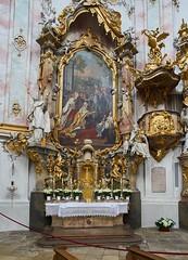 Ettal (===\WR\===) Tags: deutschland bayern germany bavaria pfaffenwinkel benediktiner abtei ettal kirche barock rokoko sony alpha ilce7m2 a7m2 a7ii a7markii carl zeiss zeissjena ddr flektogon 35mm