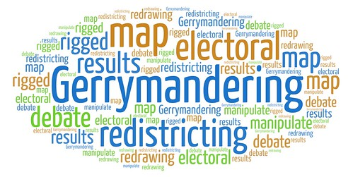 Gerrymandering, one of many devices of voter repression