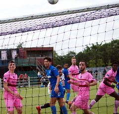 Missed! (Flash_Gordon_Photo) Tags: wombles afc wimbledon wexford fc ireland footbal footy