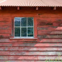 Gilead Barn (jtr27) Tags: dscf6124xl jtr27 fuji fujifilm fujinon xe2s xf 35mm f2 f20 rwr red barn building shed maine newengland weathered wood reflection