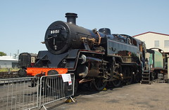 DSC00219 (Alexander Morley) Tags: bluebell railway model weekend 2019 sheffield park class 4mt