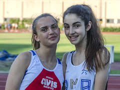 Emma Baldoni con Marica Melatini