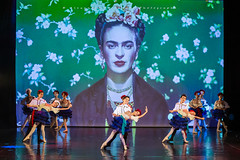 Spectacle SYNOPSIS 2019 (Alexandre66) Tags: france pyreneesorientales 66 perpignan spectacle danse synopsis 2019 canon 5d mkiii 70200mm f28 l ii is usm danseuses couleur frida kahlo