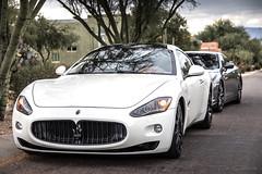 Maserati I (Skyrocket Photography) Tags: maserati granturismo white tucson arizona team revered skyrocket photography dan santamaria