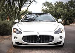 Maserati II (Skyrocket Photography) Tags: maserati granturismo white tucson arizona team revered skyrocket photography dan santamaria