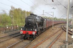8F Steam: 48151 Wigan North Western (tractor37194@googlemail.com) Tags: 48151 lmsstannier8f wigannorthwestern dumfries shrewsbury westcoastmainline westcoastrailways chartertrain wcrc northwestengland steamengine steam railways cheshire railtour westcoastrailtours