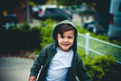 Happy Baby Boy! (PhotoCleaf) Tags: red amsterdam child kid kids smile laugh green lightroom canon 7d 50mm bokeh