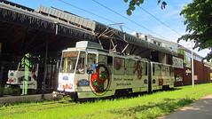 Estonia - Tallinn tram (onewayticket) Tags: tram transport urban tttk tatra kt4su tatrakt4su alloverlivery tallinn estonia