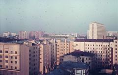 View on Gilyarovsky Street, Russia, Moscow, (Group f/64) Tags: moscow ussr sretenkast 1988 zenit12xp helios44258mmf2lens epsonv700 film orwo slide