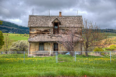 Abandoned (ap0013) Tags: abandoned abandon abandonment house home country rural idaho fishhaven abandonedhouse west western