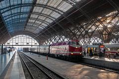 29-6-2019 - Leipzig Hbf (berlinger) Tags: leipzig sachsen deutschland eisenbahn railways railroad sonderzug specialtrain uboot br229 br119 deutschereichsbahn