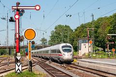 29-06-2019 - Hanau Hbf (berlinger) Tags: hanau hessen deutschland eisenbahn railways railroad ice semaphore formsignal vorsignal stellwerk signalbox hauptsignal