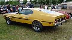 Tour de Bretagne 2019 - Ford Mustang Mach1 (4) (BOSTO62) Tags: tourdebretagne automobile wagen car anciennes 2019 mach1 ford mustang jaune