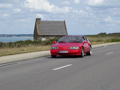 Tour de Bretagne 2019 - Alpine Renault V6 turbo (BOSTO62) Tags: tourdebretagne automobile wagen car anciennes 2019 rouge alpine v6 turbo