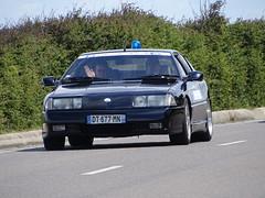 Tour de Bretagne 2019 - Alpine Renault V6 Turbo (4) (BOSTO62) Tags: tourdebretagne automobile wagen car anciennes 2019 gendarmerie alpine v6 turbo