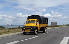 Tour de Bretagne 2019 - camion citroen U (BOSTO62) Tags: tourdebretagne automobile wagen car anciennes 2019 citroen camion u jaune truck