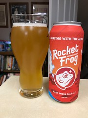 2019 180/365 6/29/2019 SATURDAY - Surfing With The Alien Hazy Imperial India Pale Ale - Rocket Frog Brewing Company Sterling, VA (_BuBBy_) Tags: 2019 180365 6292019 saturday surfing with the alien hazy imperial india pale ale rocket frog brewing company sterling virginia va beer sat sa 6 29 29th june 180 365 days 365days project project365