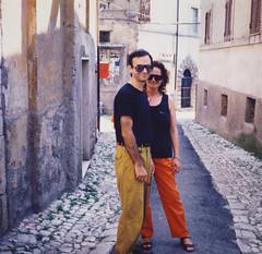 Becoming Italian (Robert Barone) Tags: chiara italia italianamerican italiani italians italy robertbarone fotodepoca vintage 1989 kodacolor
