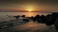 sunset a Berck sur mer