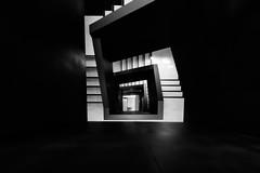 Dyson'd (Sean Batten) Tags: london england unitedkingdom spiral staircase blackandwhite bw imperialcollege dysonschoolofdesignengineering nikon d800 1424 city urban