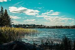 Lazy Summer Days. (A.Koponen) Tags: canon eosr rf24105mmf40 lseries hoya summer kuopio suomi finland lake sky clouds