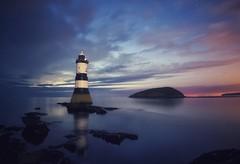 One Night At Penmon (Captain Nikon) Tags: penmonlighthouse penmonpoint anglesey northwales lighthouse reflections longexposure nightphotography nightsky puffinisland stars nikond7100 tokina1120mmf28