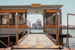 Public transport view in Venice (Giovanni Piero Pellegrini) Tags: public transport venice venezia boat church canal water italy europe travel transportation architecture