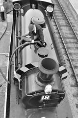 "30742 Charters - ""Jessie"" at the Pontypool and Blaenavon Railway (Martin Creese) Tags: pontypoolblaenavonrailwaypbr hunslet mineral wagons wales torfaen nikon d90 june 2019 summer colliery photography photocharter photoshoot jessie 48550 class"