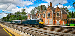 92010 at Atherstone (robmcrorie) Tags: 92010 caledonian sleeper stock mk mark 5 atherstone station warwickshire pomade wembley nikon d850