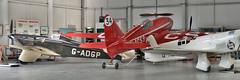 de Havilland DH88 Comet (G-ACSS) (Bri_J) Tags: shuttleworthcollection oldwarden bedfordshire uk airmuseum museum aviationmuseum nikon d7500 dehavilland dh88 comet gacss aircraft panorama hangar racer