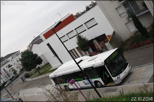 Heuliez Bus GX 327 GNV - Semitan (Société d'Économie MIxte des Transports en commun de l'Agglomération Nantaise) / TAN (Transports en commun de l'Agglomération Nantaise) n°584