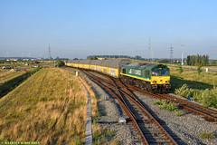 RTB Cargo @ Bundel Zandeken (Maarten Schoubben) Tags: class 66 emd gm rurtalbahn cargo auto train ars altmann lijn ligne 219 infrabel nmbs sncb