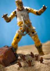 Run, it's Bosskzilla! (thereeljames) Tags: canon toys actionfigure starwars godzilla jawa bossk toyphotography toyphotographers