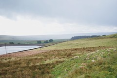 (Ffîon) Tags: widdop yorkshire uk moors reservoir grass sky clouds nikon d3300 rain