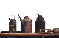 Recently at Aladins house (Mado46) Tags: bxl06 mado46 deutschland dortmund kokereihansa ölkannen oilcans rust rost industrial industry cokingplant 444v4f