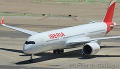 EC-NDR Juan Sebastian Elcano (Martin J. Gallego. Siempre enredando) Tags: airbus 350 a350 a350xwb rollsroyce trent rollsroycetrent