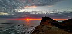 Um local especial ( I ) (antoninodias13) Tags: ocaso pordosol imensidão oceano cores tonalidades rotavicentina trilhos percursos caminhadas baíadostiros rogil aljezur odeceixe arrifana praias surf escolasdesurf faro algarve portugal huawei leica huaweimate20pro