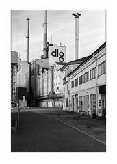 Grain storage, Aarhus harbour (K.Pihl) Tags: olympusom1 perceptolstock monochrome kodaktmax400320 blackwhite zuiko50mmf14 aarhus pellicolaanalogica schwarzweiss bw analog harbour film 400tmy