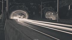 Exit (JBernadez) Tags: devilsslide montara pacifica highway1 pacificcoasthighway northern california near san francisco sundown evening light trails hiking biking recreation driving road trip canonef2470mmf28liiusm 5dmkii canon outside enter exit street traffic cars motorcycles dusk bluehour