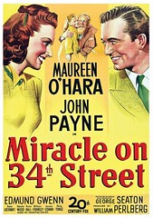 MIRACLE on 34th street film poster (amalthus) Tags: poster film vintage nostalgia old orint collection collectible cinema illustration graphicart hollywood retro movies
