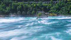 Rheinfall Schaffhausen Schweiz (marcelweikart) Tags: schaffhausen rheinfall schweiz swiss wasser wasserfall langzeitbelichtung neu new farbe color sony a7 a7rii 24105f4 waterfall switzerland