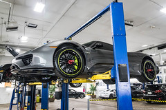 Serviced (Hunter J. G. Frim Photography) Tags: supercar colorado porsche 918 spyder weissach v8 german awd hypercar electric carbon coupe limited rare porsche918spyder weissachporsche918spyder gray