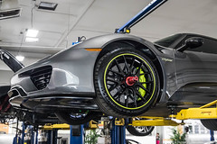 Tire Striping (Hunter J. G. Frim Photography) Tags: supercar colorado porsche 918 spyder weissach v8 german awd hypercar electric carbon coupe limited rare porsche918spyder weissachporsche918spyder gray