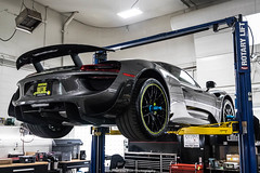 Wing Up (Hunter J. G. Frim Photography) Tags: supercar colorado porsche 918 spyder weissach v8 german awd hypercar electric carbon coupe limited rare porsche918spyder weissachporsche918spyder gray