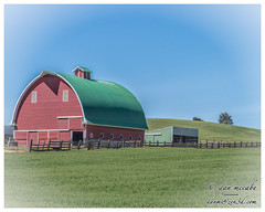 Barn on the Palouse (zen3d ☯) Tags: barn palouse farm
