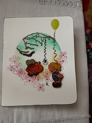 Card for a granddaughter (scrappy annie) Tags: card handmadecard birthdaycard mixedmedia