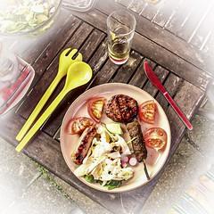 Barbeque Supper (thorpenick62) Tags: leadinglines food dogwood2019week23 dogwood2019 dogwood52